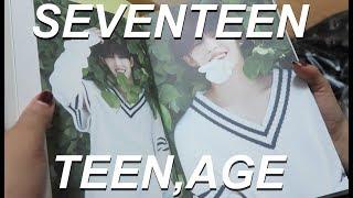 SEVENTEEN 'TEEN,AGE' ALBUM UNBOXING (ALL VERSIONS)