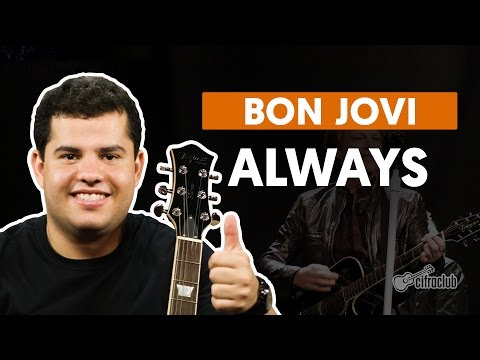 Always - Bon Jovi  de guitarra