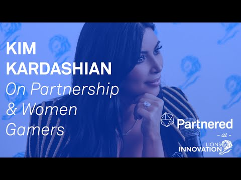 Kim Kardashian At Cannes Lions 2015 On Women Gamers, Partnerships, And Social Media