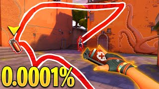 Valorant: CRAZY 0.0001% Chąnce Moments..! - Insane Luck & OP Clips - Valorant Moments Highlights