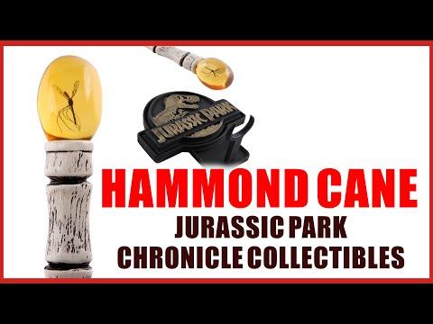 Unboxing Hammond Cane de Jurassic Park de Chronicle Collectibles - Jurassic Fan Quest
