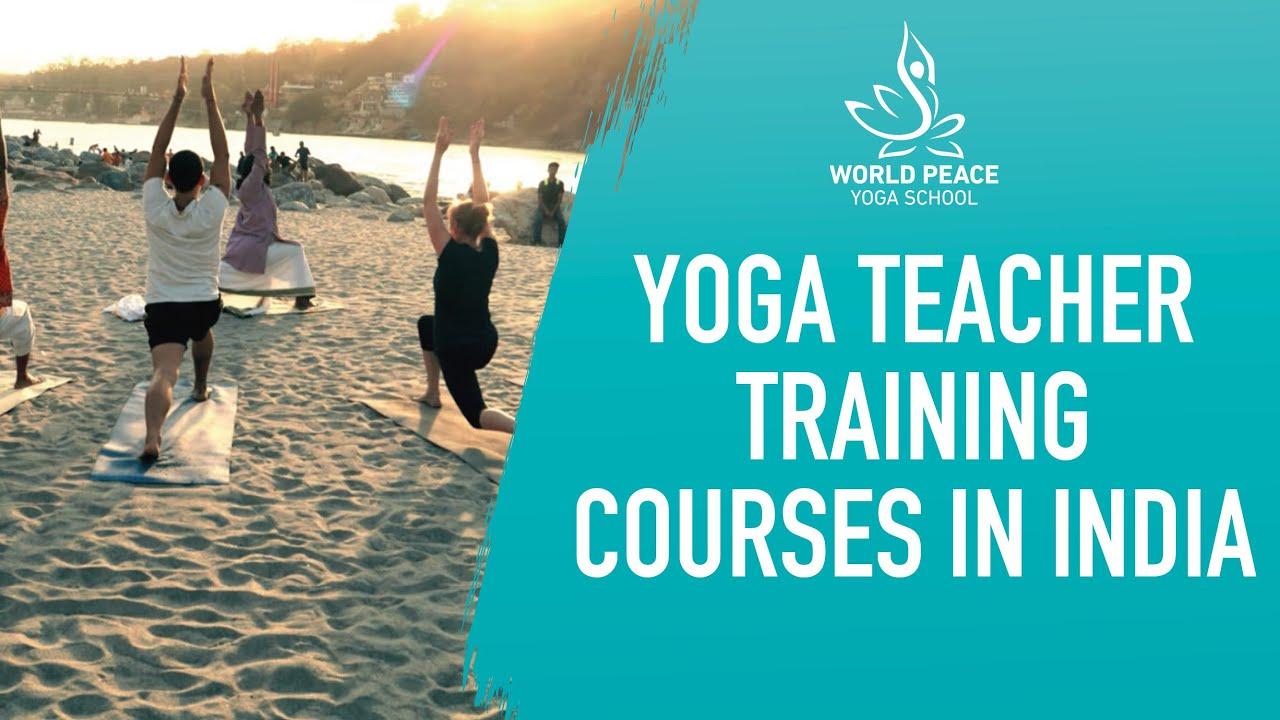 Yoga Teacher Training Courses In India Youtube