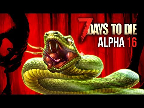 ZOMBIE SNAKE ATTACK ★ 7 Days To Die (Alpha 16, Ep.45)