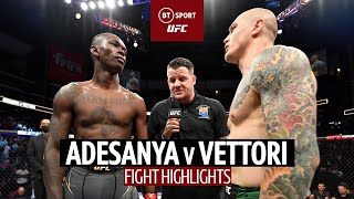 Stylebender gives five-round clinic!   Israel Adesanya v Marvin Vettori   UFC 263 Fight Highlights