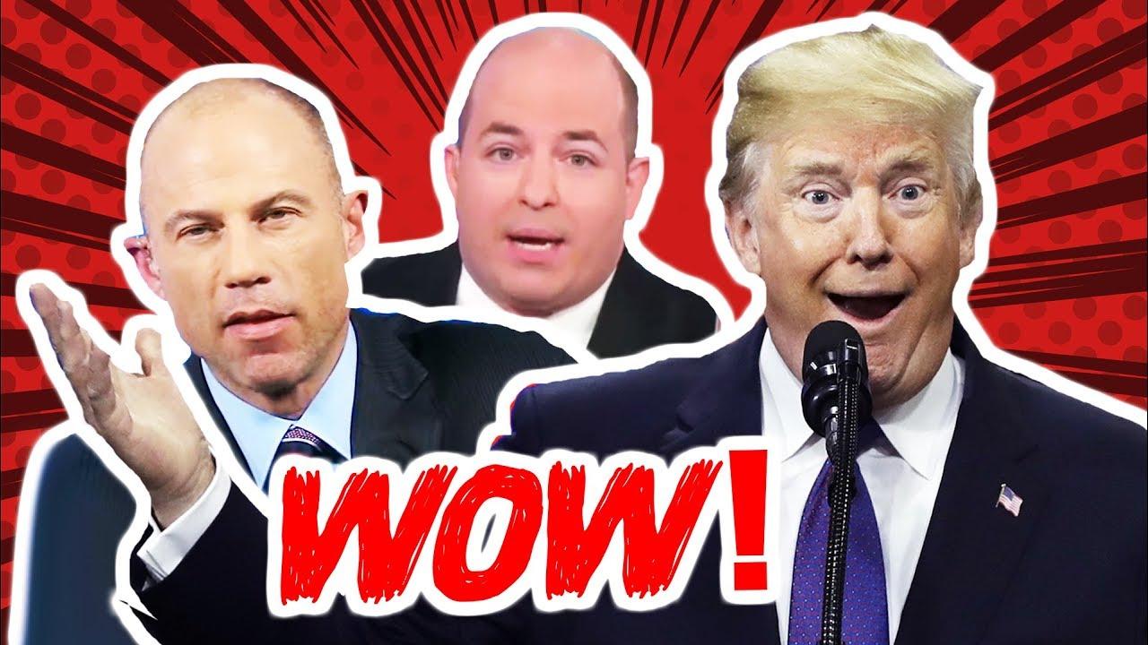 WOW: CNN Blames Trump For Media's  Avenatti Worship - Dronetek Politics