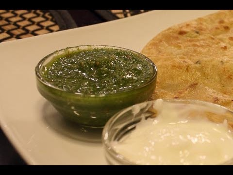 Easy Indian Recipes - Green Chutney