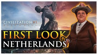 Video Civilization VI: Rise and Fall - First Look - Netherlands Gameplay download MP3, 3GP, MP4, WEBM, AVI, FLV Maret 2018