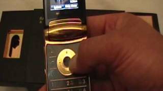 Motorola RAZR2 V8 Gold by SuperRey
