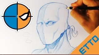 How to Draw DeathStroke - Easy Things To Draw