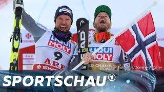 Ski-WM: Svindal holt zum Karriereende Silber   Sportschau