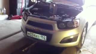 Chevrolet Aveo: замена масла и масляного фильтра