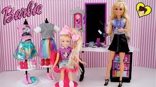 Barbie Jojo Siwa Rutina de Mañana en su Habitacion de Unicornio