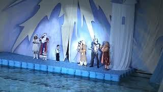 Рекламный ролик новогоднего представления на воде. Январь 2019 года