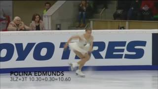 2015 Rostelecom Cup Ladies 2A+Triple and 3-3