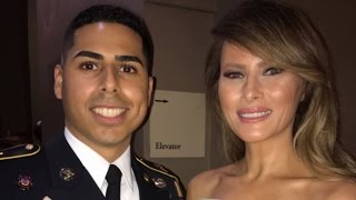 Meet The Military Man Who Danced With First Lady Melania Trump At Inaugural Ball