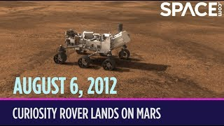 OTD in Space – August 6: Curiosity Rover Lands on Mars