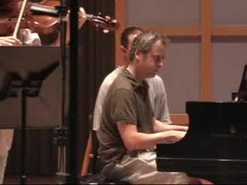 Roberto Diaz and Jeremy Denk record Brahms