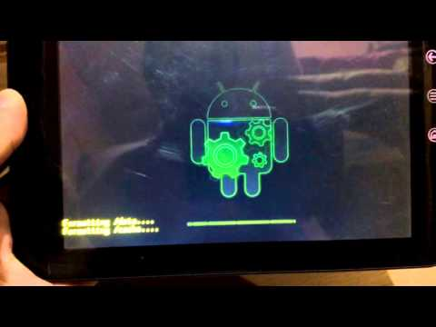 How To Factory Reset Password & Reinstall Android Tablet Dell Streak 7