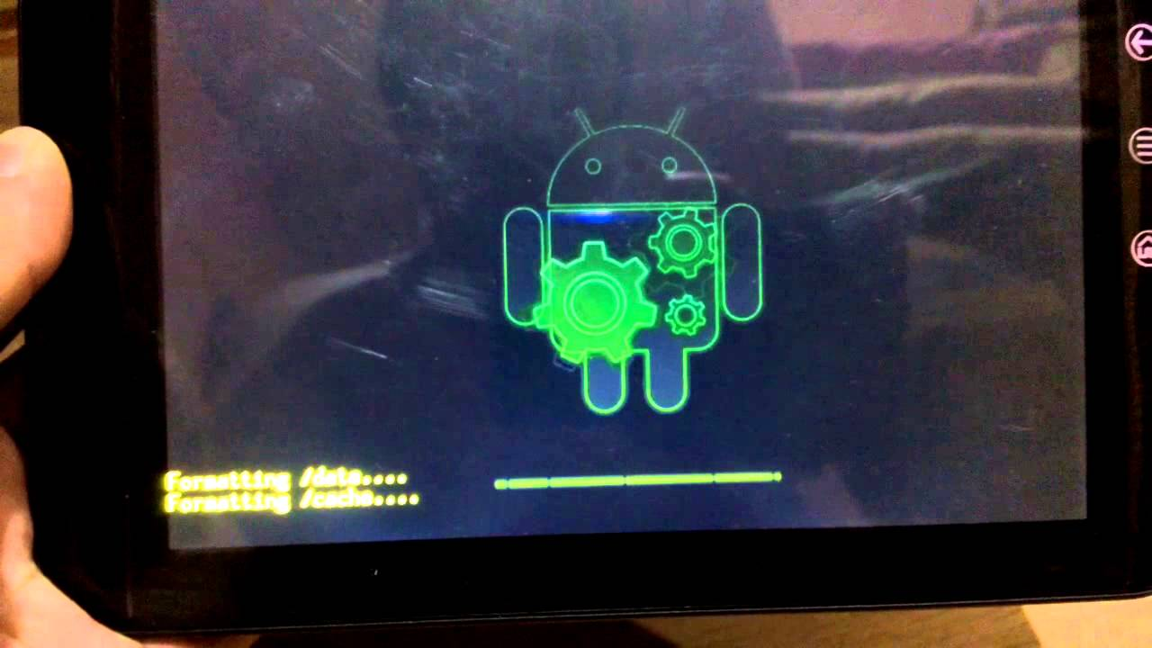 How to reinstall Android on tablet and smartphone 33