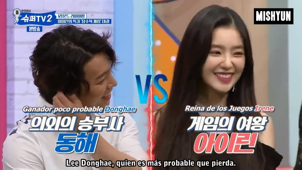 Lee donghae and irene