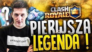 "Clash Royale #6 ""PIERWSZA LEGENDA !"""