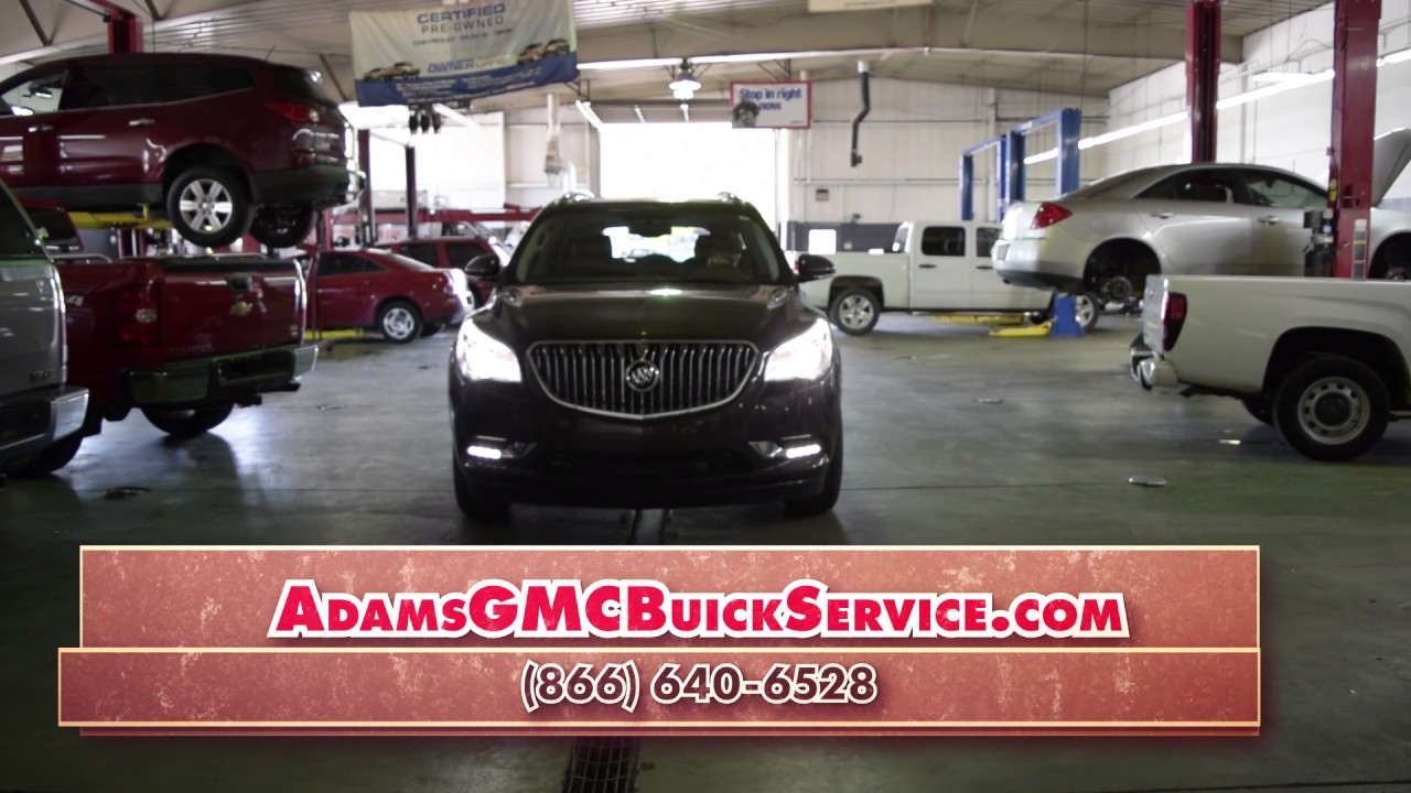 Adams Buick Richmond Ky >> Oil Change Richmond KY | Where to Get an Oil Change in Richmond KY - YouTube
