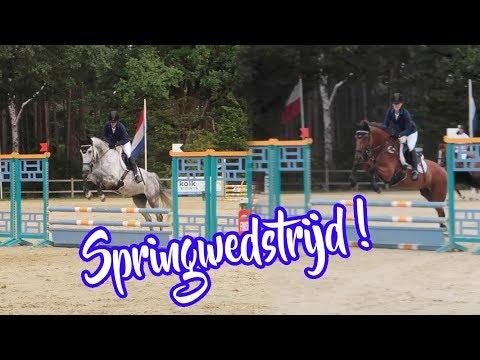 Op springwedstrijd met Jade & Jules !  VLOG#80