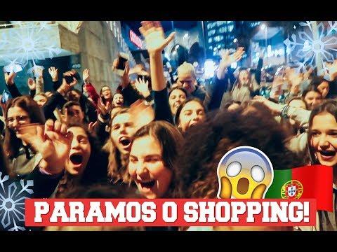 O DIA QUE PARAMOS UM SHOPPING EM PORTUGAL 😱 #CongelandoMomentos   Lorrayne Mavromatis