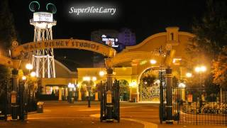 Walt Disney Studios Park Nighttime Entrance Loop