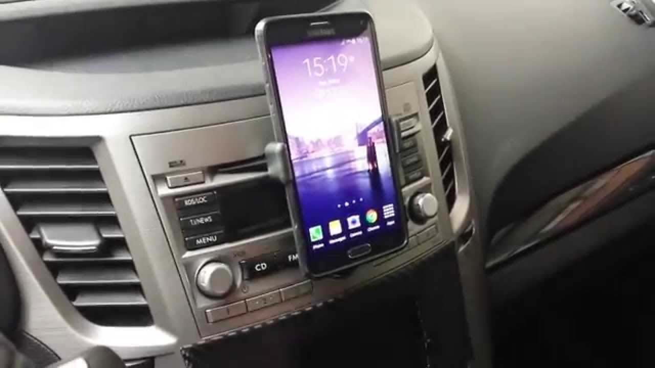 Diy Car Cd Slot Phone Mount Youtube