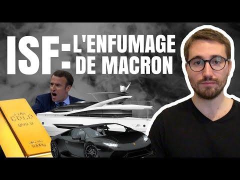ISF, YACHTS, LINGOTS D'OR : COMMENT MACRON NOUS ENFUME ? - Le Bon Sens