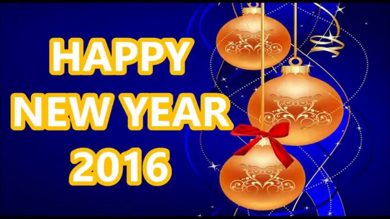 Video New Year Greetings Merry Christmas And Happy New Year 2018