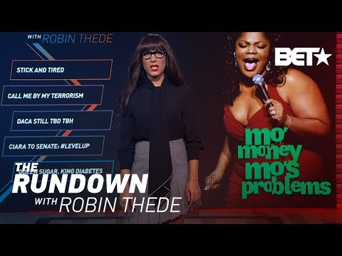 Robin Thede's Thoughts On Mo'nique's Recent Netflix Strike Video | The Rundown With Robin Thede