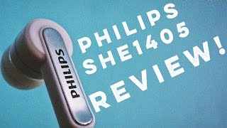 Philips SHE1405 Earphones Review