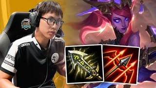 DOUBLELIFT KR SOLOQ - THE GOD TIER CAITLYN!