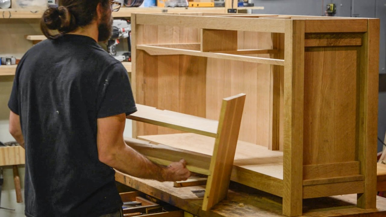 Oak Furniture Projects ~ Oak furniture project part youtube