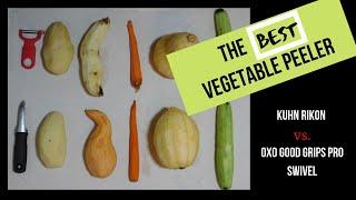 Best Vegetable Peeler - Kuhn Rikon Original Swiss Peeler vs. OXO Good Grips Pro Swivel Peeler