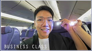 ลอง Business Class การบินไทย บินไวไปเกาเหลา