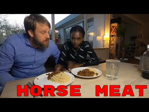 Eating Horse Meat For The First Time