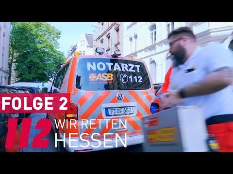 112 Wir retten Hessen (2/6) Johanniter, Feuerwehr, Rettungskräfte und Notärzte im Einsatz.