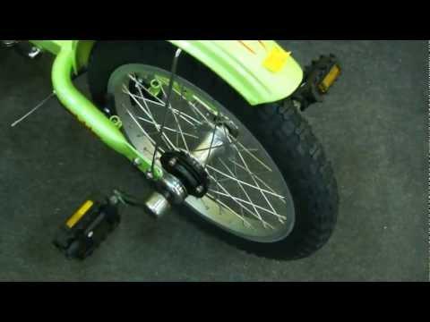 """Лежачий трехколесный велосипед круизер Sports Cart Rider 16"""""""