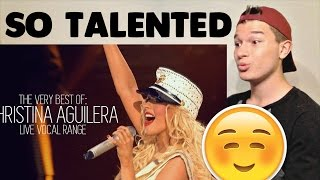 Download Christina Aguilera Best Live Performances Reaction! Mp3 and Videos