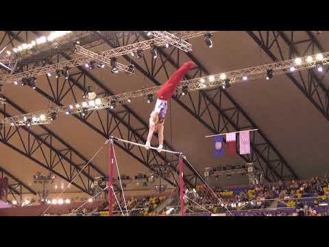 Sam Mikulak - High Bar - 2018 World Championships - Events Finals