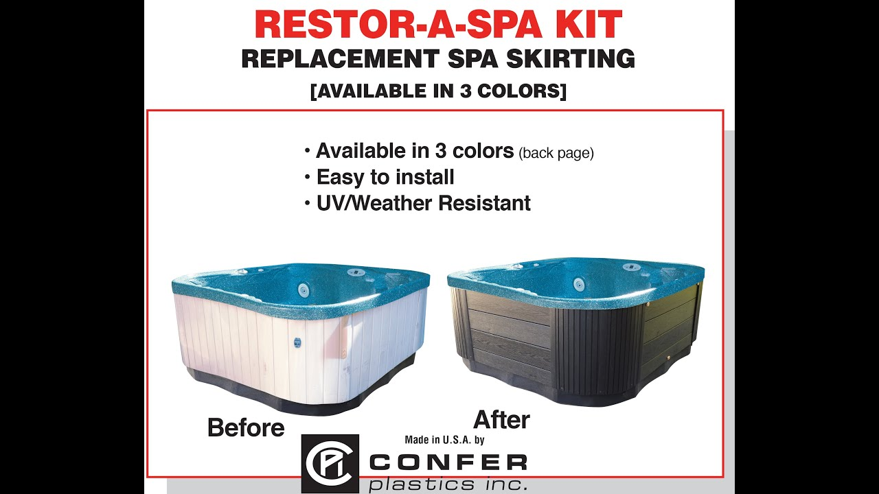 Restor A Spa Kit Installation Video