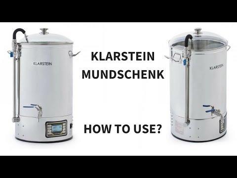 Klarstein Mundschenk/Ace Micro Brewery/Hopcat/Bulldog - Homebrewing step-by-step 🍻🍻
