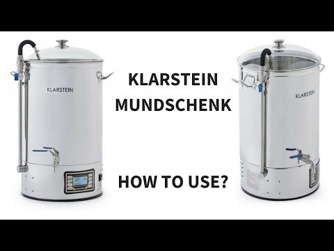 Klarstein Mundschenk Ace Micro Brewery Hopcat Bulldog Royal Catering - Homebrewing step-by-step 🍻🍻