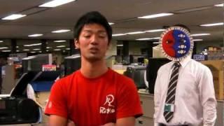 次にブレイクする芸人を見つけよぅ!! さるつかい VS アイロンヘッド.