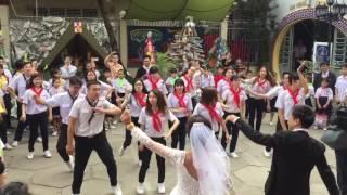 GLV Thiên Ân chúc mừng ngày tân hôn anh Tân 01-01-2017