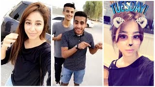 شباب سعوديين يفاجئون اسيل عمران - صحيفة صدى الالكترونية