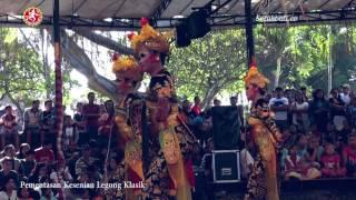 Pementasan Kesenian Legong Klasik Sanggar Seni Klasik Ardhanareswari Kota Denpasar